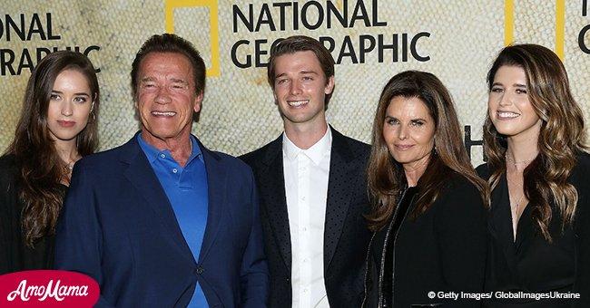 Arnold Schwarzenegger's daughter caught kissing popular 39-year-old actor