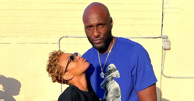 Lamar Odom's Fiancée Sabrina Parr Glows in a New Selfie Featuring Her Curly Locks and Red Lips