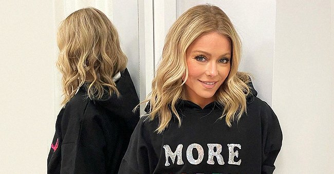 Fans Question Kelly Ripa About Her Age After She Posted a Pic Looking Youthful in a Sweatshirt