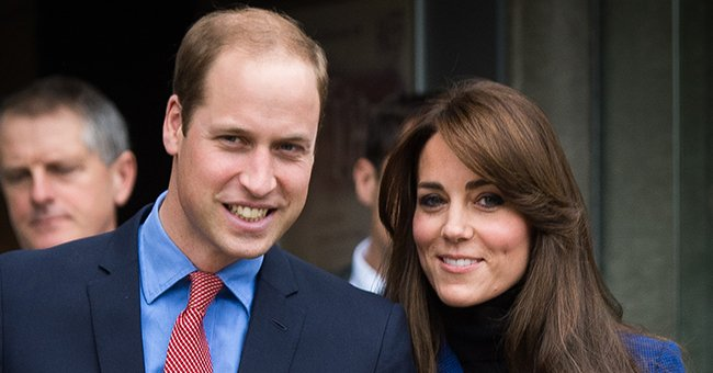 Kate Middleton Dons a Blue Sheer-Sleeved Dress to Mark 10th Anniversary with Prince William