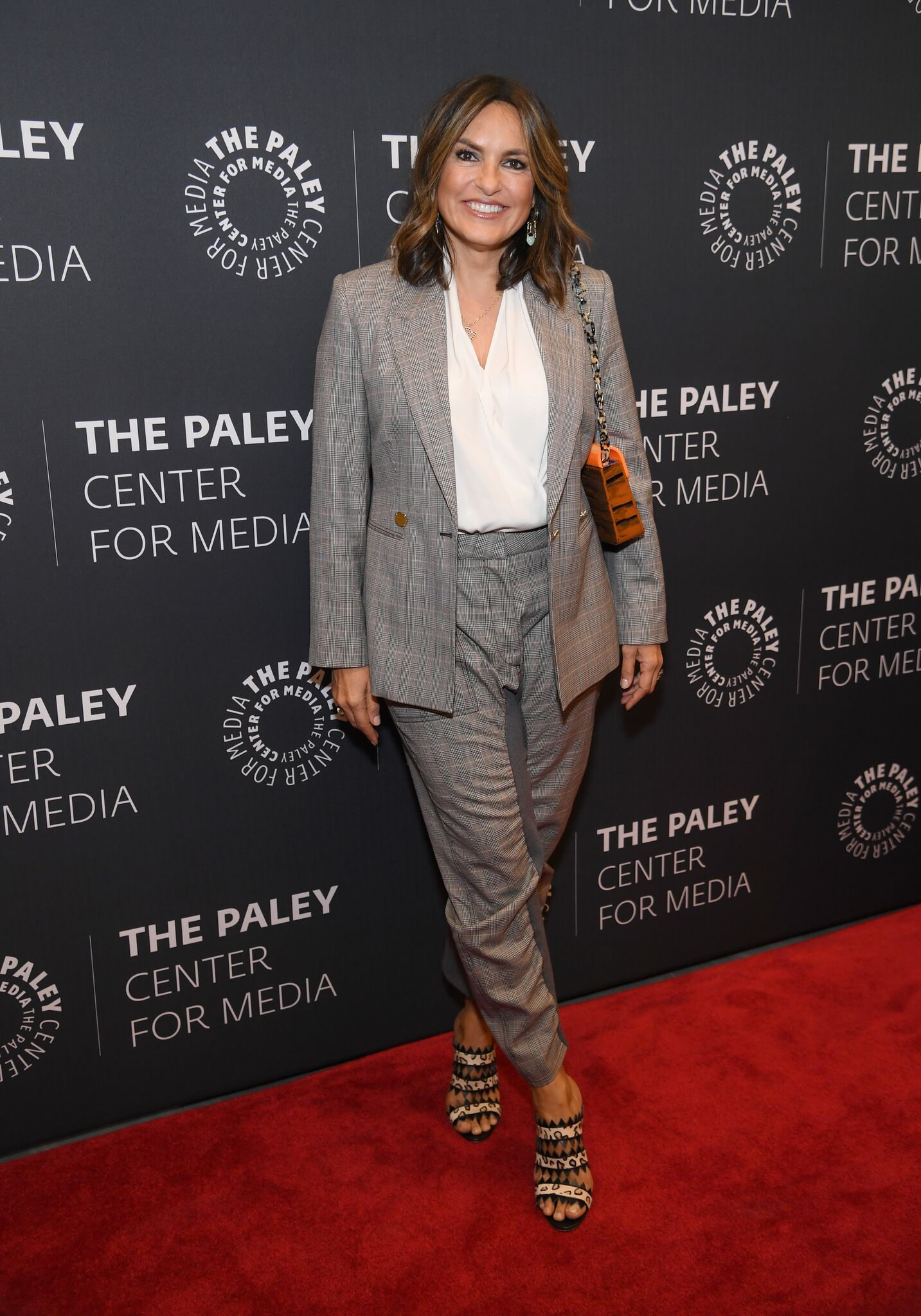 "Mariska Hargitay during the ""Law & Order: SVU"" Television Milestone Celebration. 