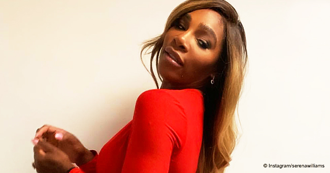 Serena Williams Flaunts Her Enviable Curves in Plunging Red Dress and High Heels in New Pic
