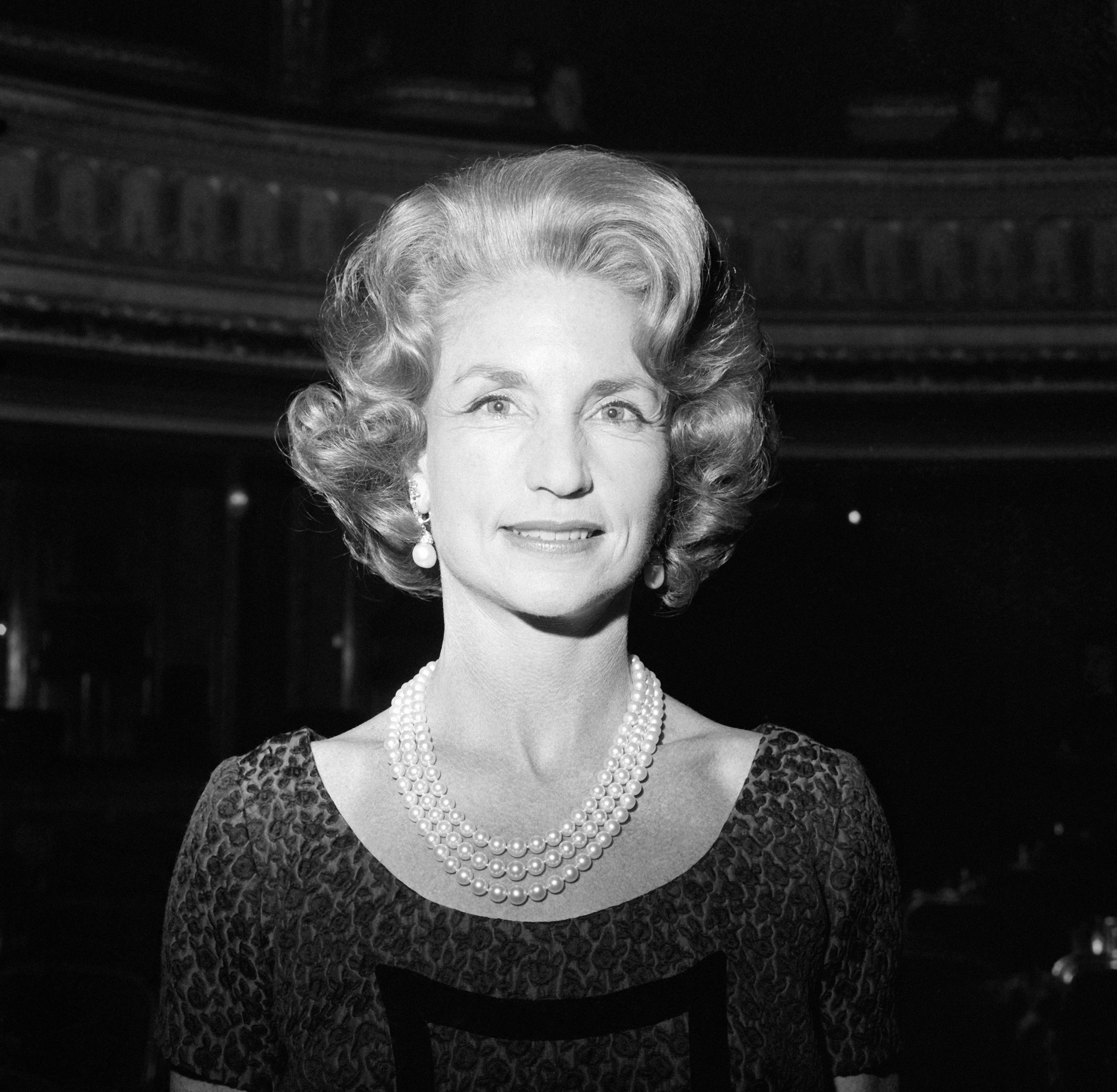 Portrait of Rebekah Harkness, director of the New York Harkness Ballet in New York City on March 12, 1965 | Photo by Keystone-France/Gamma-Rapho via Getty Images