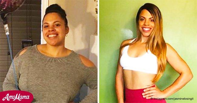 Así es como una pareja perdió 98 kilos de peso en solo 10 meses