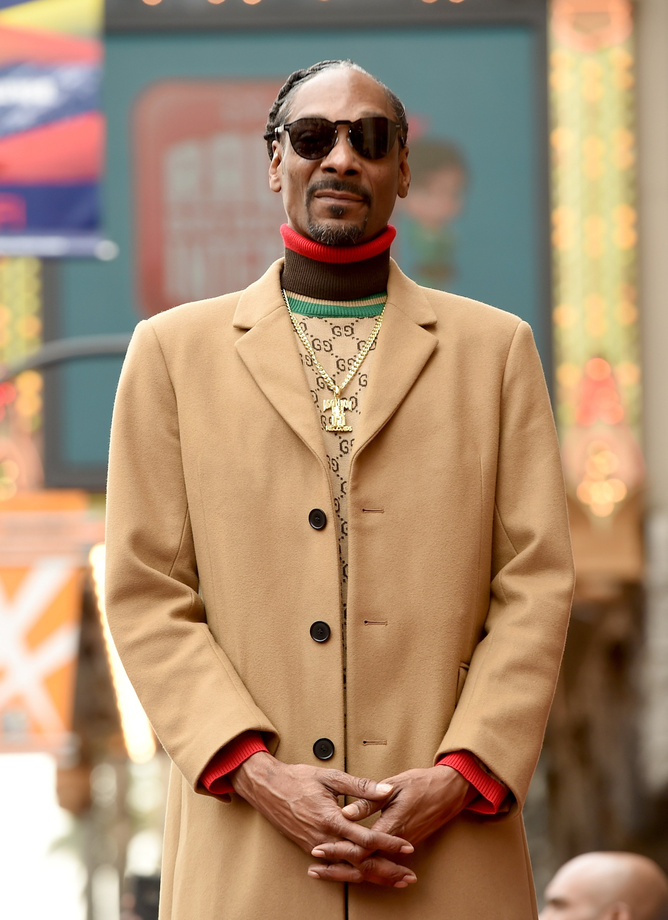 Snoop Dogg getting his star on The Hollywood Walk Of Fame in LA on Nov. 19, 2018   Photo: Getty Images