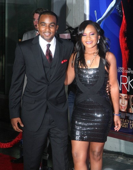 Bobbi Kristina Brown and Nick Gordon at Grauman's Chinese Theatre on August 16, 2012 in Hollywood, California | Photo: Getty Images