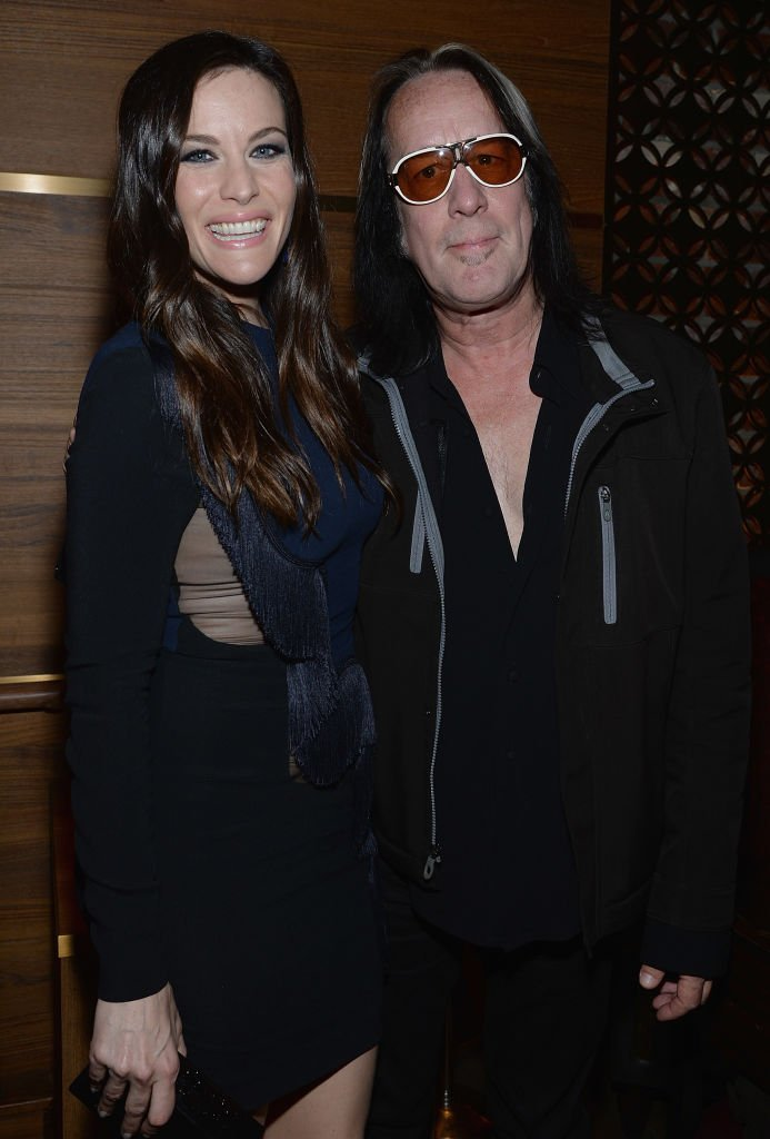 Liv Tyler and Todd Rundgren. Image Credit: Getty Images