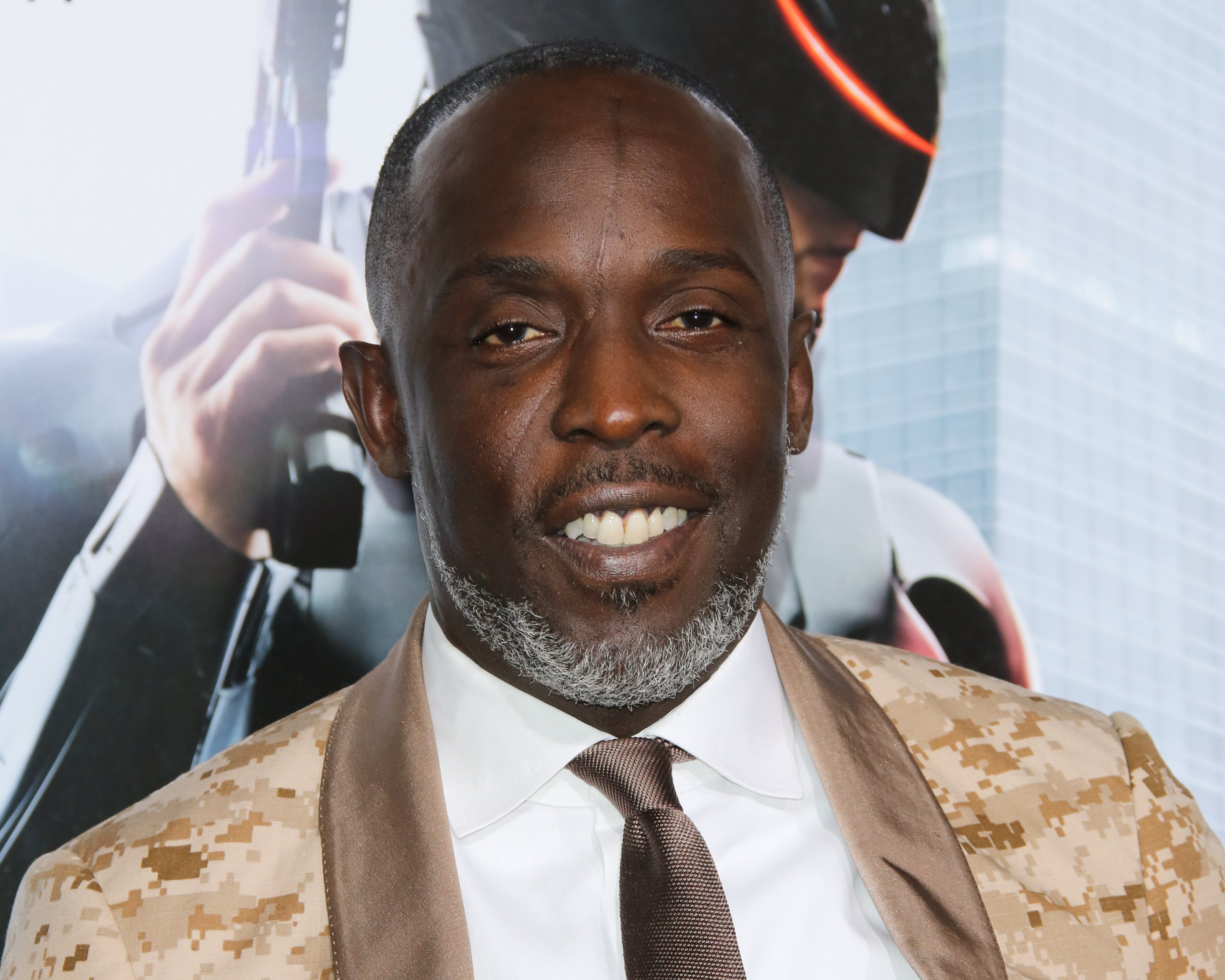 """Michael K. Williams at the Los Angeles premiere of """"Robocop"""" in Hollywood, California   Photo: Paul Archuleta/FilmMagic via Getty Images"""