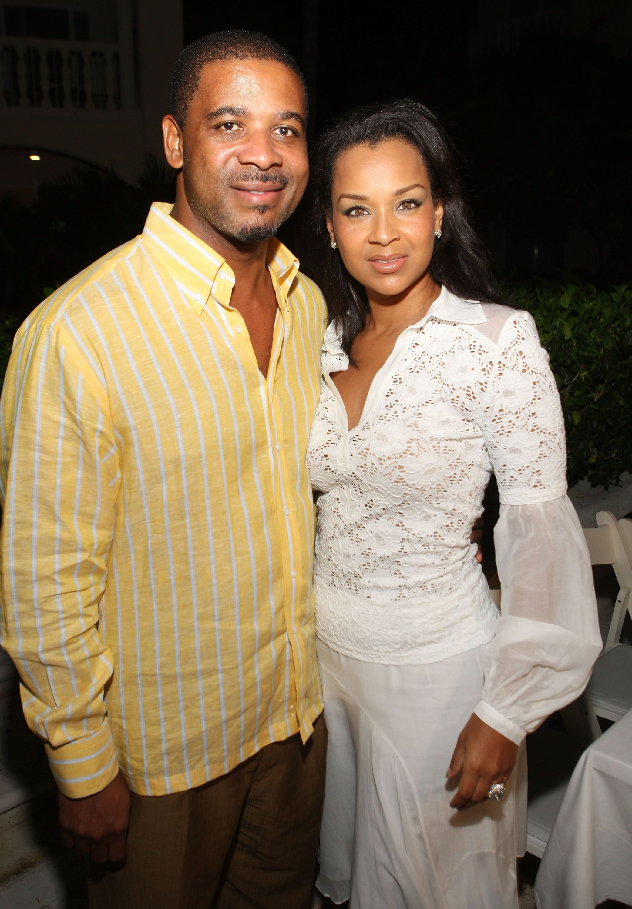 Dr. Michael E. Misick and LisaRaye Misick attend the Turks and Caicos International Film Festival at Grace Bay on October 16, 2007 | Photo: Getty Images