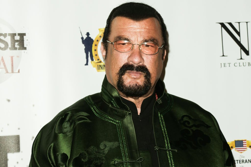 Actor Steven Seagal attends the SMASH Global V pre-Oscar fight at Taglyan Complex on February 23, 2017 in Los Angeles, California. | Photo: Getty Images