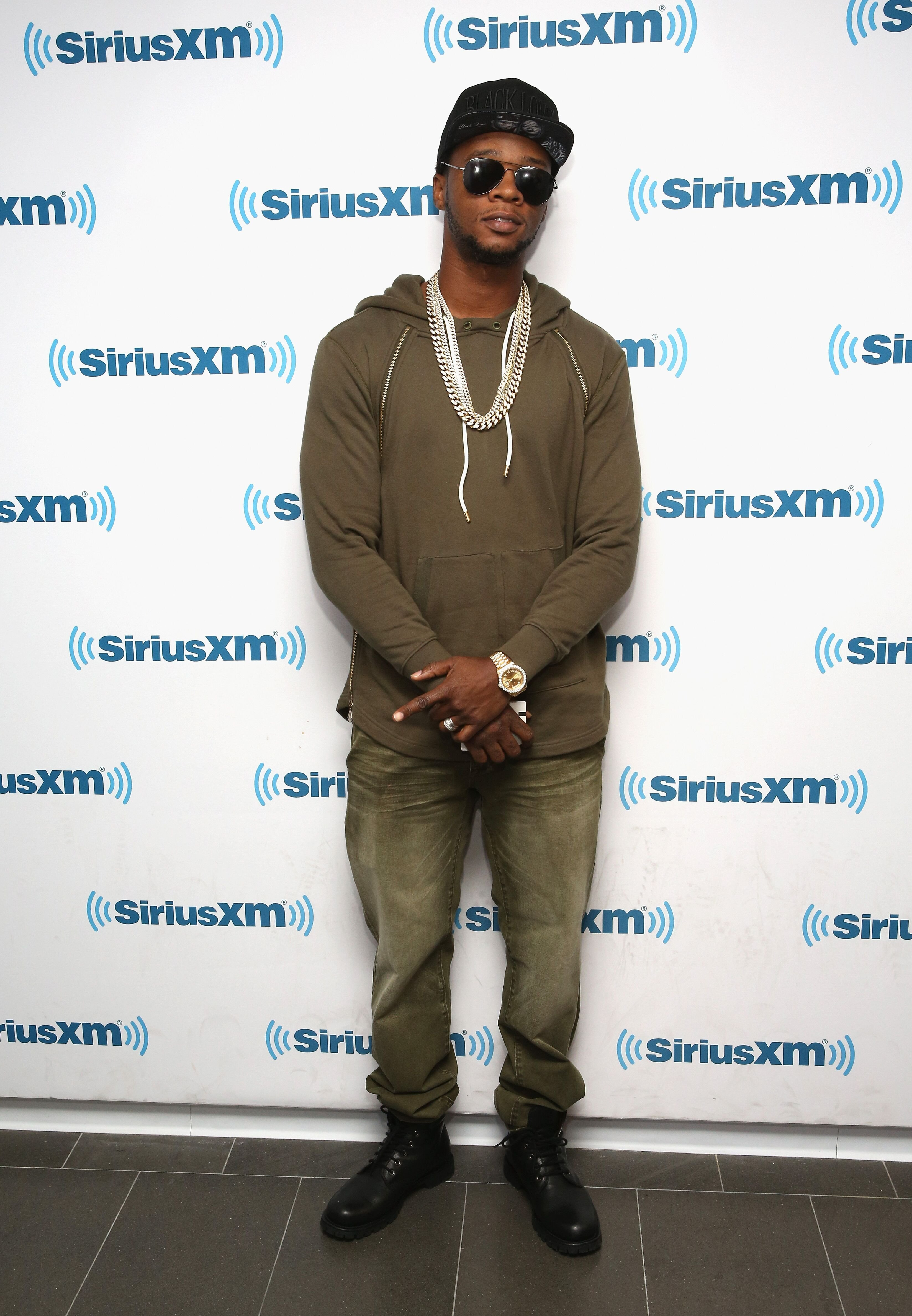 Rapper Papoose, whose real name is Shamele Mackie, visits the SiriusXM Studio on October 4, 2016 in New York City.  | Photo: Getty Images