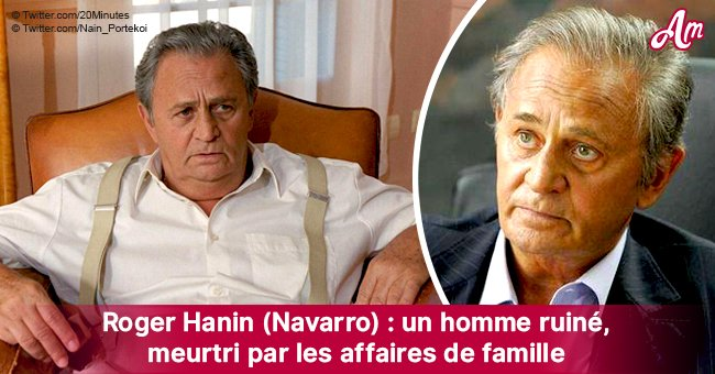 """""""Navarro"""": Pourquoi Roger Hanin est mort ruiné, trompé par sa famille, séparé de son fils caché"""