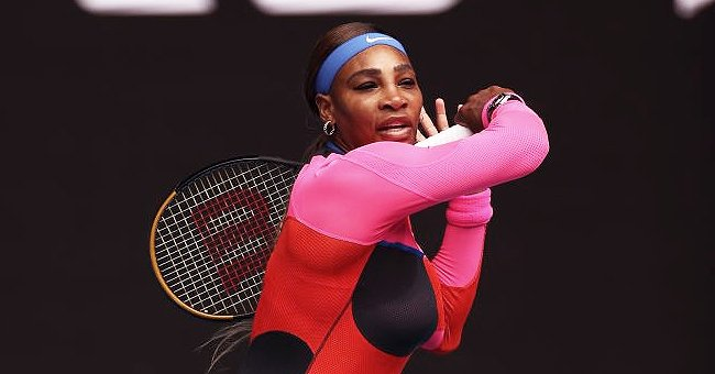 Serena Williams Looks Like a Black Swan as She Poses On a Pier Wearing a Gorgeous Ball Gown