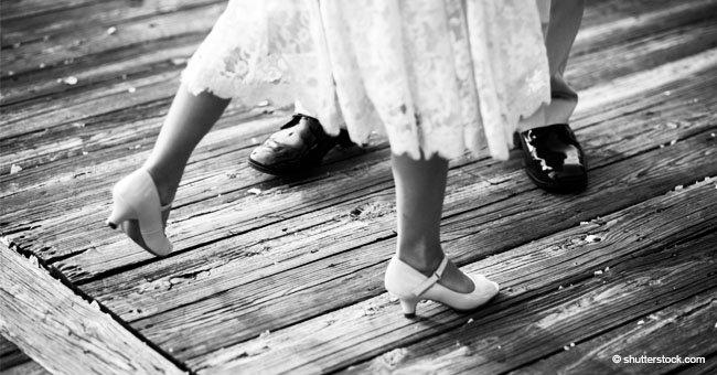 Unfassbarer viraler Tanz von einem Brautvater auf ihrer Hochzeit arrangiert