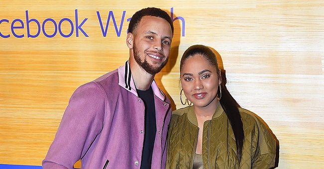 Stephen Curry & Wife Ayesha Celebrate Easter with 3 Kids in Matching Striped Sweatshirts