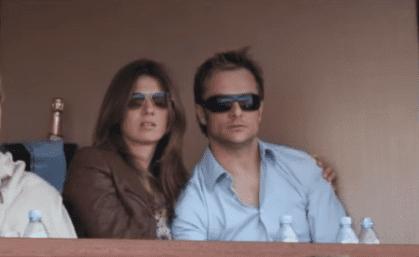 Alexandra Pastor et David Hallyday. | Youtube/France 24/7