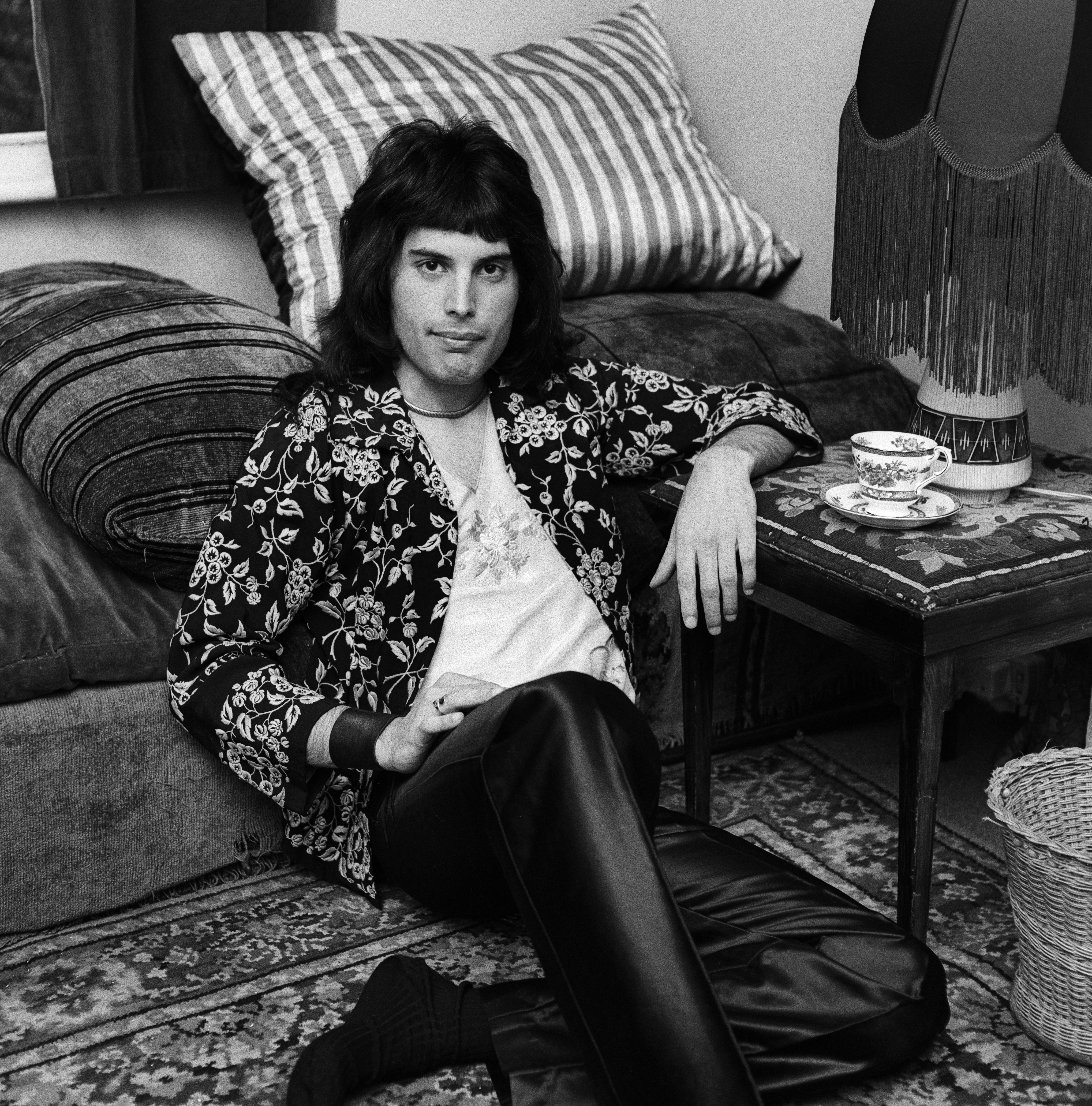 British singer and songwriter Freddie Mercury in August 1973. | Source: Getty Images.