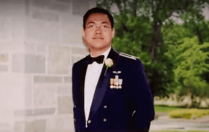 """Dr. Demetrio Aguila of """"Healing Hands"""" dressed in military uniform. 