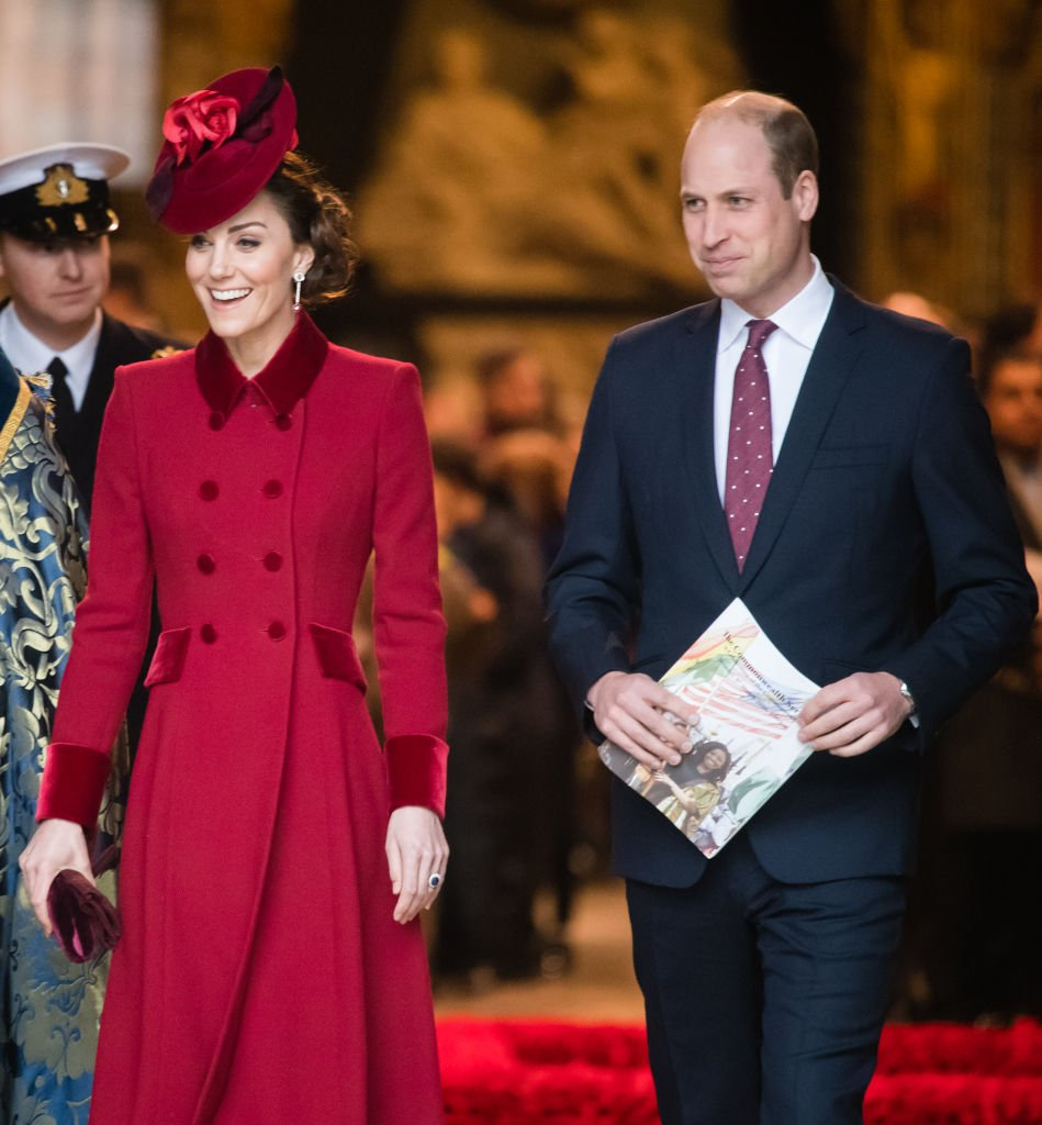 Catherine, Duchess of Cambridge and Prince William, Duke of Cambridge attend the Commonwealth Day Service 2020 on March 09, 2020 | Photo: Getty Images