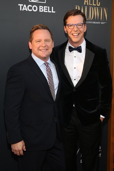 Scott Icenogle and Sean Hayes attend the Comedy Central Roast of Alec Baldwin at Saban Theatre on September 07, 2019, in Beverly Hills, California. | Source: Getty Images.