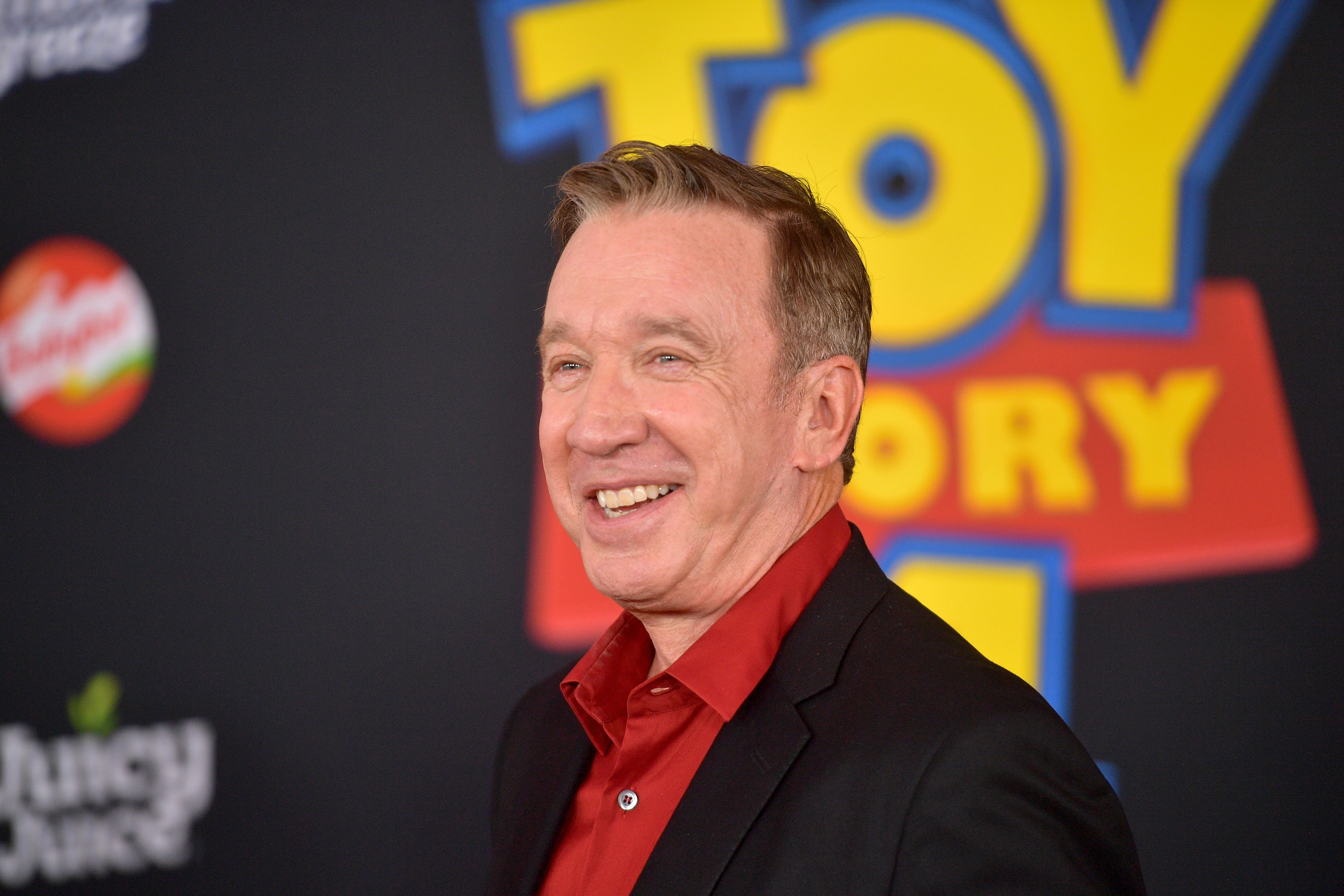 """Tim Allen at the premiere of Disney and Pixar's """"Toy Story 4"""" on June 11, 2019 