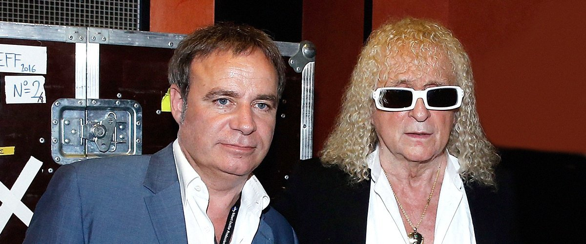 Michel Polnareff et Fabien Lecoeuvre à l'Olympia le 14 juillet 2016 à Paris. l Source : Getty Images