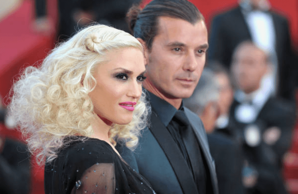 "Gwen Stefani and Gavin Rossdale during the 64th Annual Cannes Film Festival, on the red carpet for ""The Tree Of Life"" Premiere, on May 16, 2011, in Cannes, France 