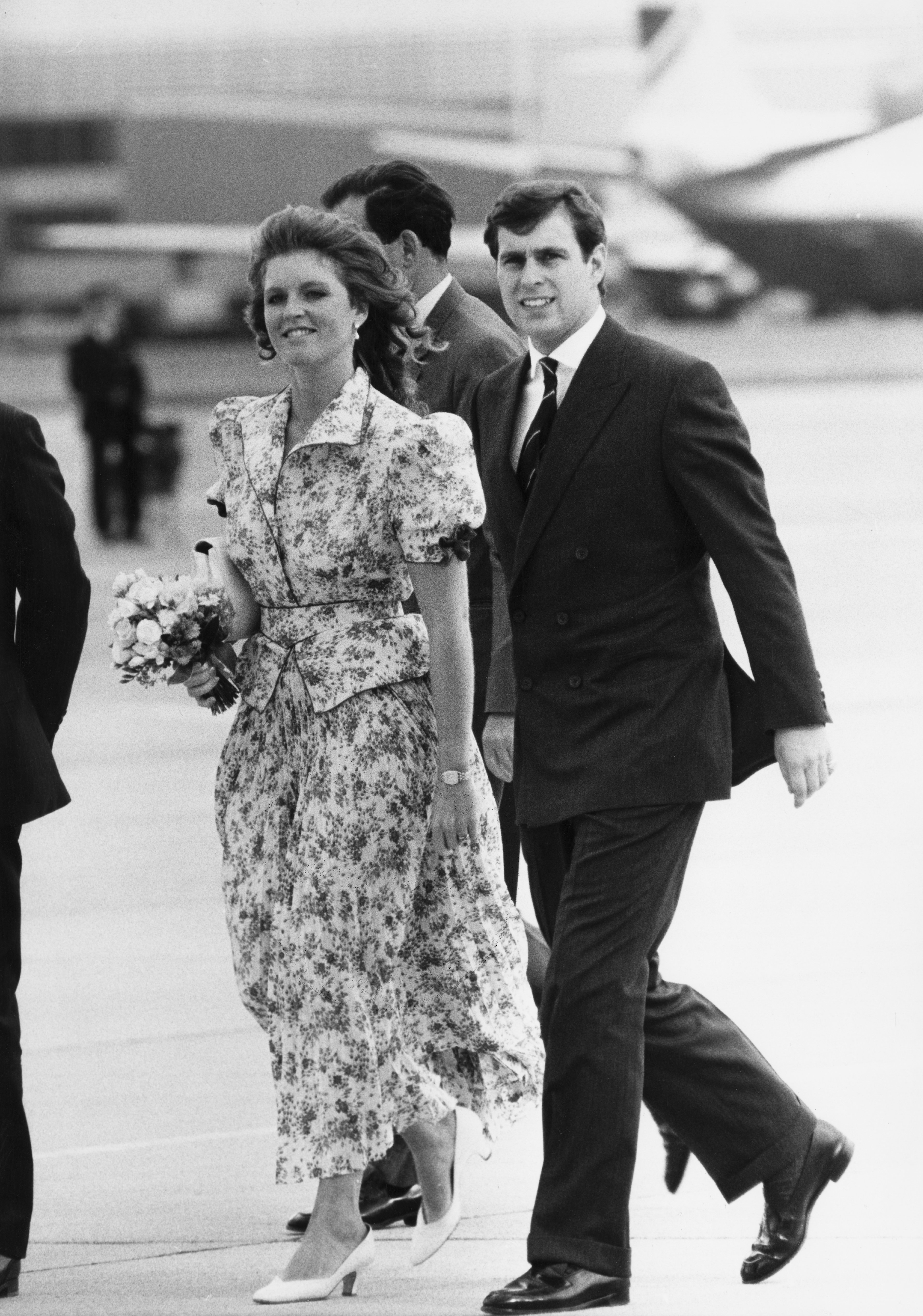 Sarah Ferguson and Prince Andrew during their earlier years as a couple | Photo: Getty Images