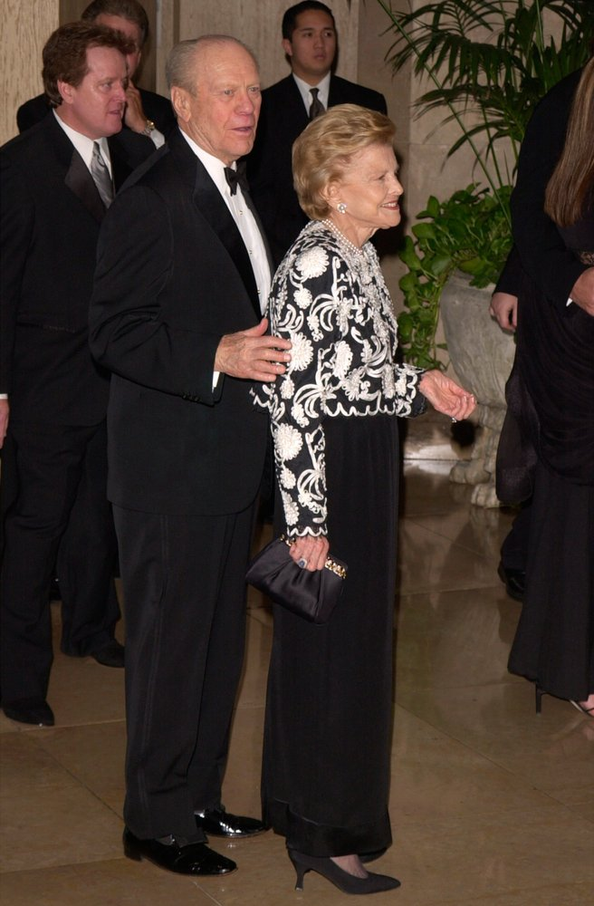 Former President Gerald R. Ford and his at the Carousel of Hope Ballat the Beverly Hilton Hotel on October 28, 2000 | Photo: Shutterstock/Paul Smith/Featureflash Photo Agency