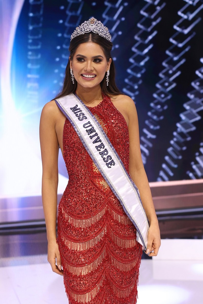 Miss Universe 2020 Andrea Meza on May 16, 2021 in Hollywood, Florida | Photo: Getty Images