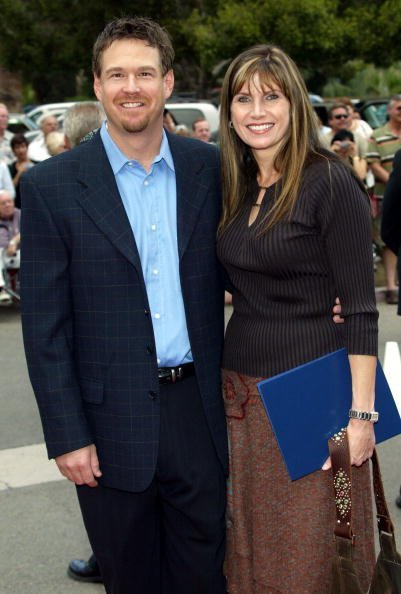 Glenn Baxley and Mary Bono at the Annenberg Theatre in the Palm Springs Desert Museum in Palm Springs, California on October 17, 2004 | Photo: Getty Images