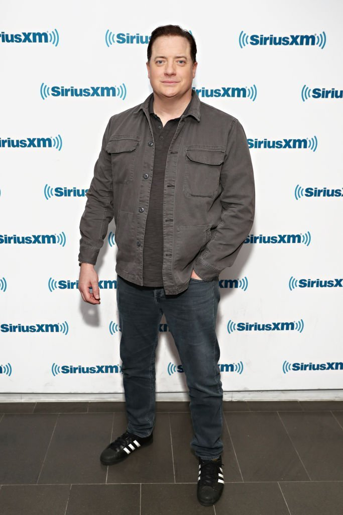 Brendan Fraser on April 18, 2019 in New York City | Source: Getty Images