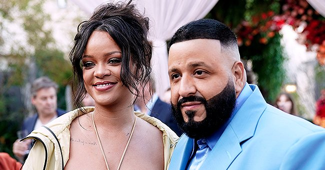 Rihanna Hugs DJ Khaled's Son Asahd after Recording Song 'Wild Thoughts' in Sweet Throwback Video