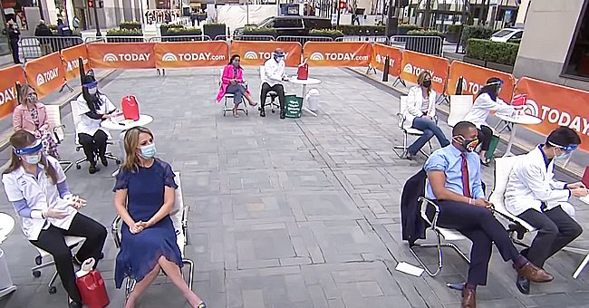 Watch 'Today' Show Hosts Get Their COVID-19 Vaccines on Air At the Rockefeller Plaza In NYC