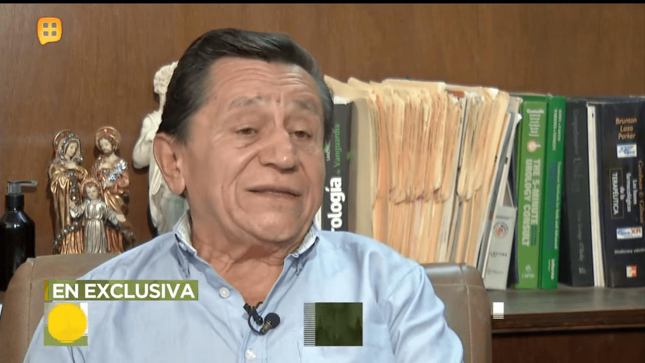 Gustavo Suárez hablando de la condición de su hermano │Imagen tomada de: YouTube / Ventaneando