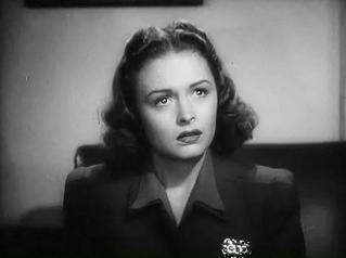 """Donna Reed in """"A Shadow of a Thin Man"""" in 1941. 