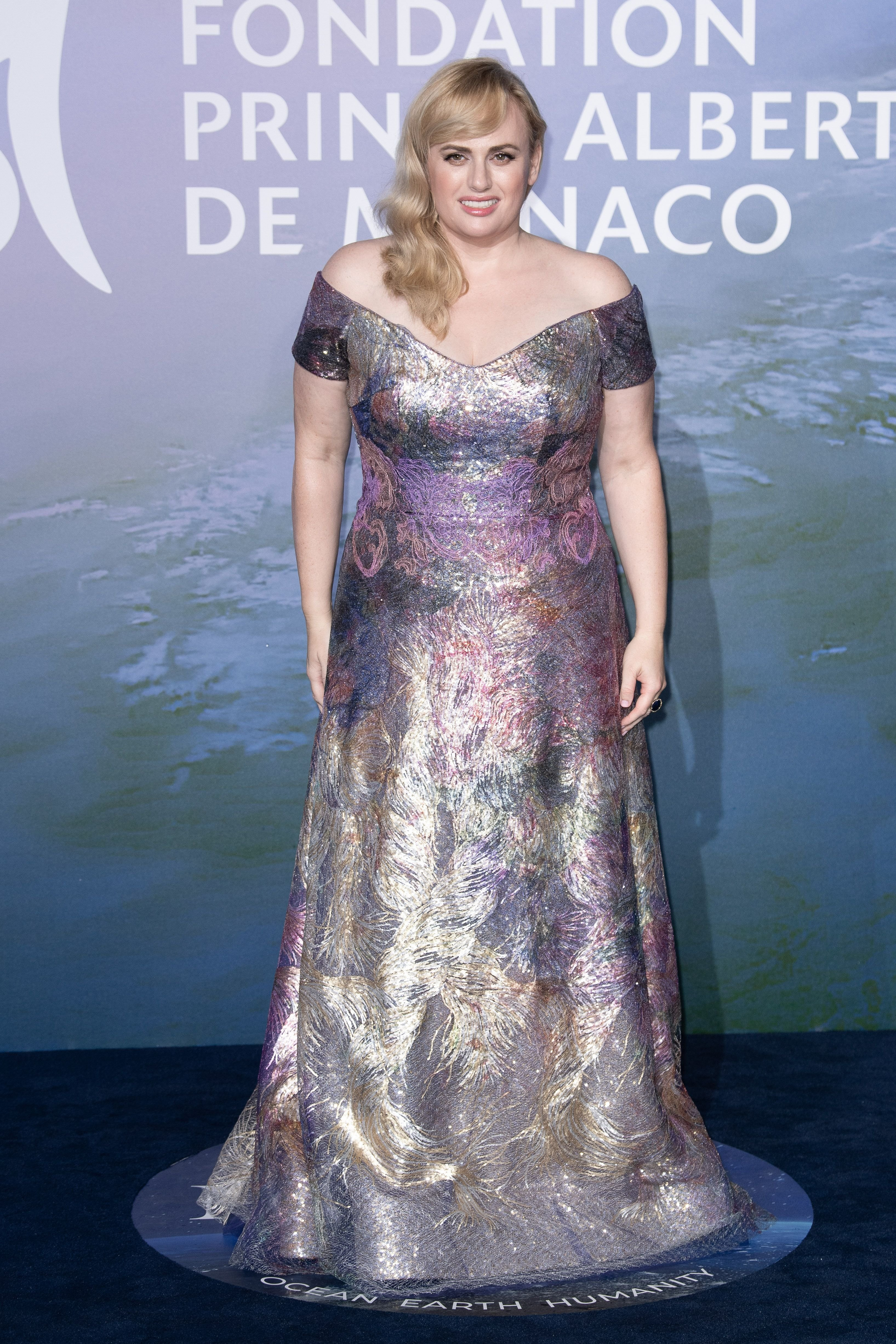 Rebel Wilson at the Monte-Carlo Gala For Planetary Health on September 24, 2020 | Getty Images
