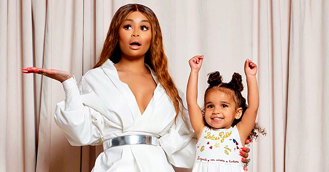 Dream Kardashian and Mom Blac Chyna Dress up in Princess Jasmine Outfits for Her 3rd Birthday