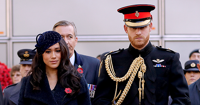 Meghan Markle Makes Her First Appearance at the Field of Remembrance Alongside Prince Harry