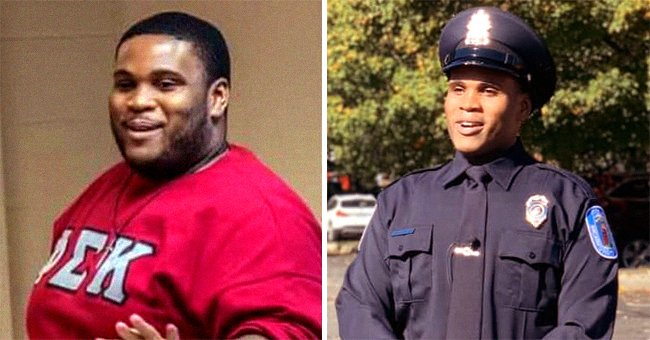 Virginia Man Romar Lyle Lost 183 Pounds so He Could Get His Dream Job as a Police Officer