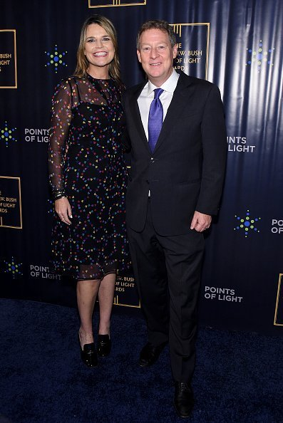Savannah Guthrie and Michael Feldman attend The George H.W. Bush Points Of Light Awards Gala at Intrepid Sea-Air-Space Museum on September 26, 2019, in New York City. | Source: Getty Images.