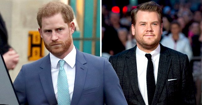 People: Prince Harry Makes a Rare Appearance in LA While Filming with James Corden