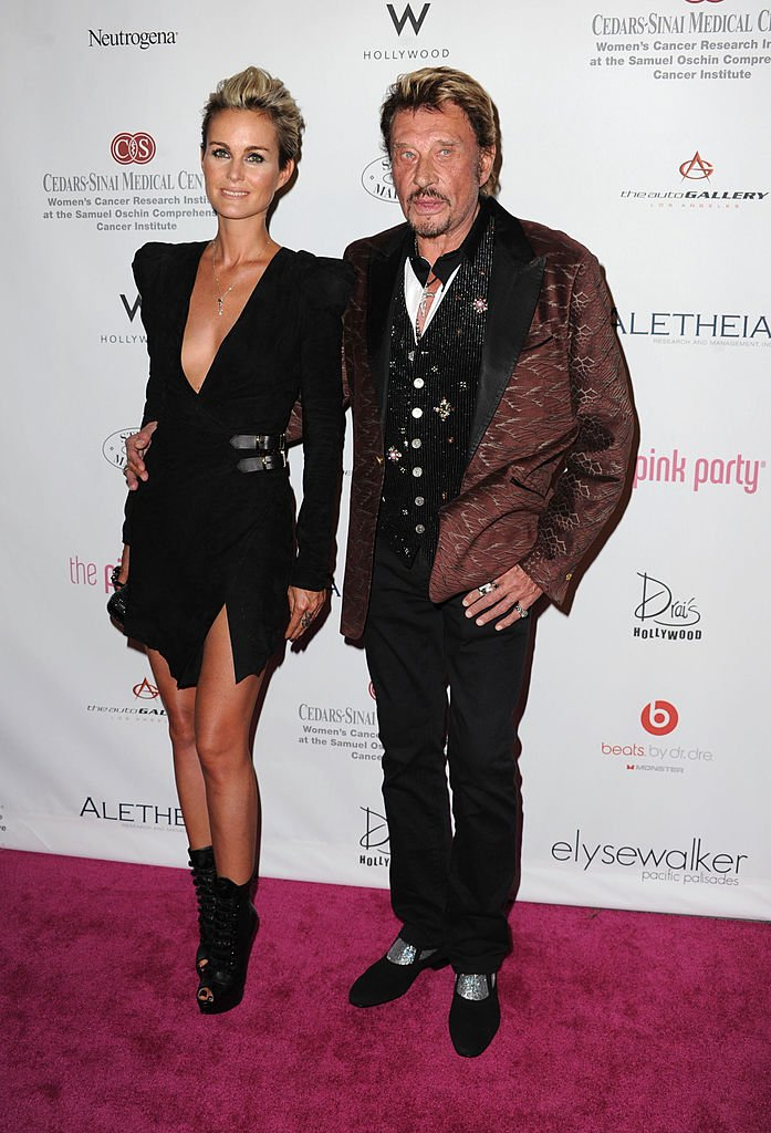 Laeticia Hallyday le 25 septembre 2010 à Hollywood. l Source : Getty Images
