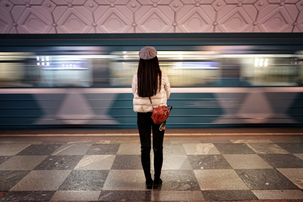 She was alone in the train station   Source: Unsplash
