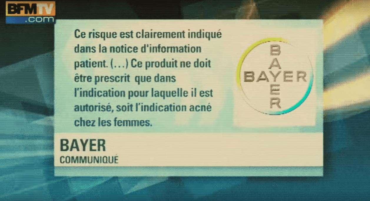 Une boite de pilules contraceptifs de Bayer   Youtube/ La pilule est amère