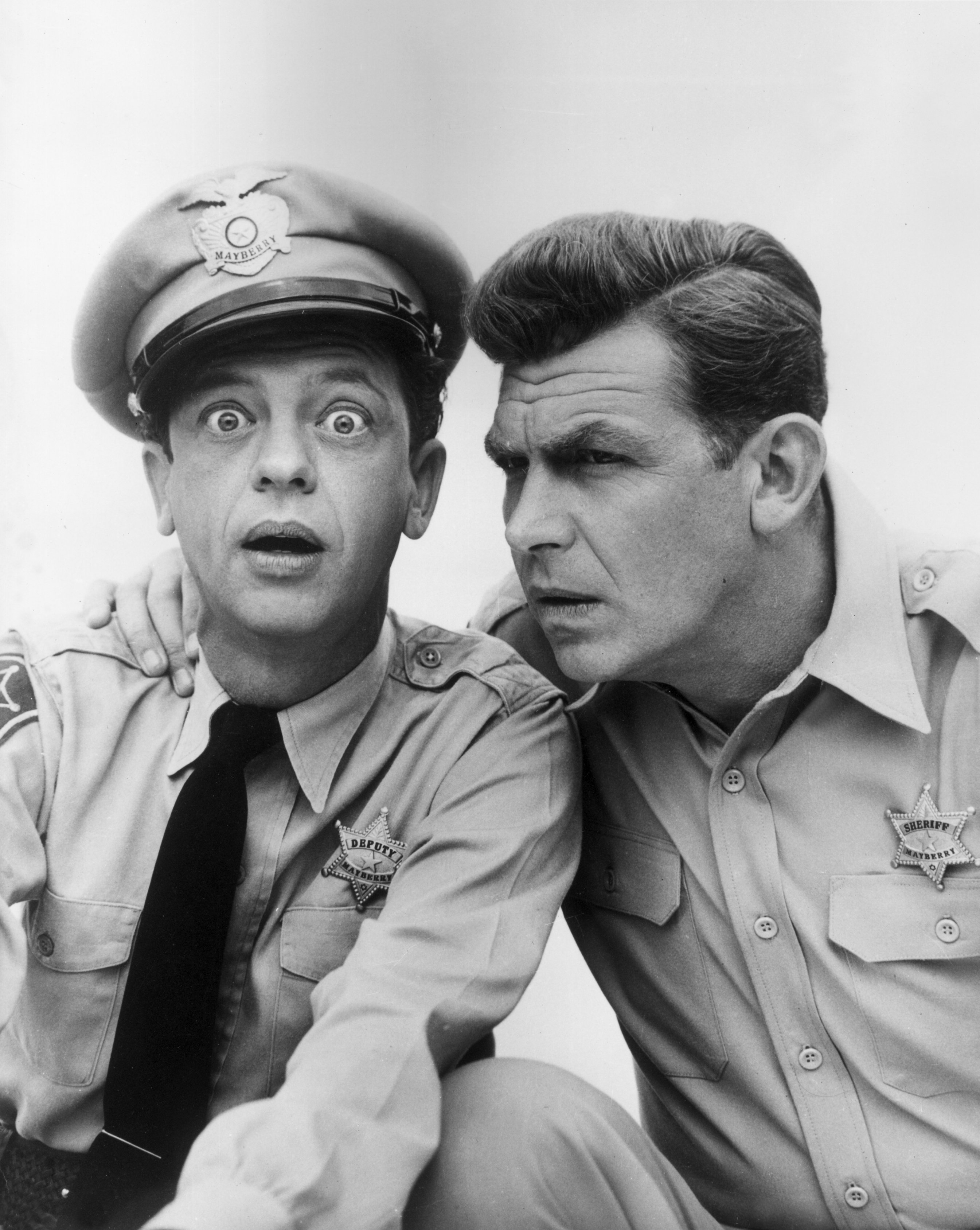 Don Knotts and Andy Griffith hailed as one of the most brilliant comedic duo in Hollywood. | Photo: Getty Images