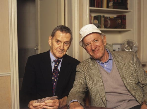 Tony Randall and Jack Klugman in 1993. | Photo: Getty Images