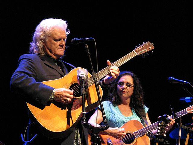 Ricky Skaggs and Sharon White perform at the McGlohon Theater, Charlotte, NC, August 19, 2015. | Source: Wikipedia.