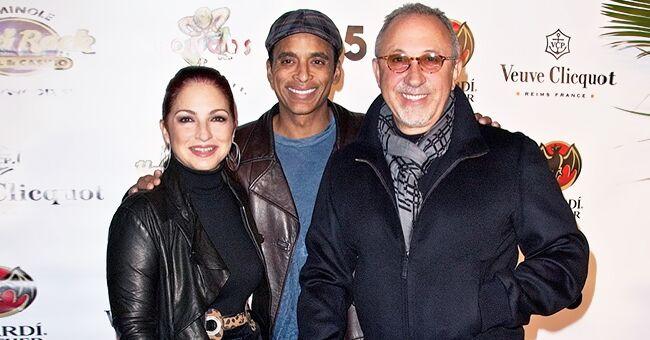 Gloria Estefan en noire avec son mari depuis 41 ans et leur ami sur une nouvelle photo