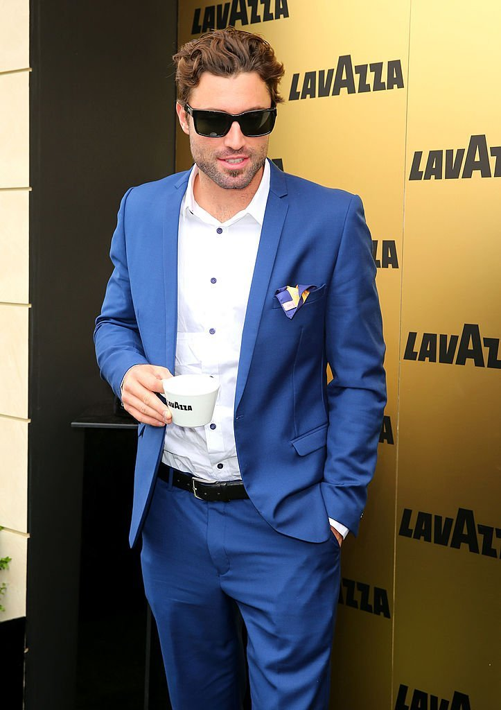 Brody Jenner is seen at the Lavazza Marquee during Crown Oaks Day at Flemington Racecourse on November 7, 2013 | Photo: Getty Images